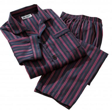 Pyjama flanelles rayures club