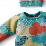 Combinaison & bonnet tricot