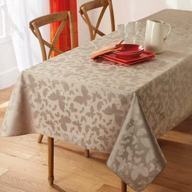 Nappe Papillons ronde