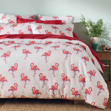 Housse de couette Flamingo