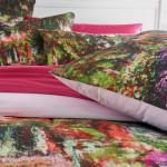 Taie d'oreiller Monet : L'allée dans le jardin