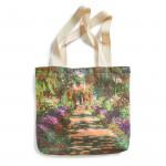 Sac shopping Monet : L'allée dans le jardin