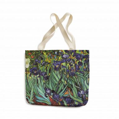 Sac shopping Van Gogh : Les Iris