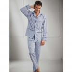 Pyjama coton à carreaux