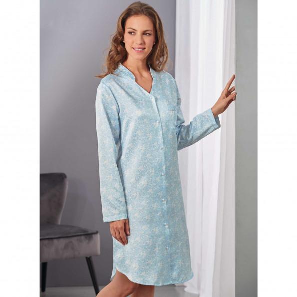 Vente commander en ligne choisir l'original Chemise de nuit satin Victoria