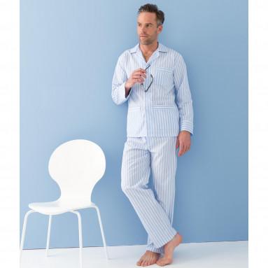 Pyjama coton rayé