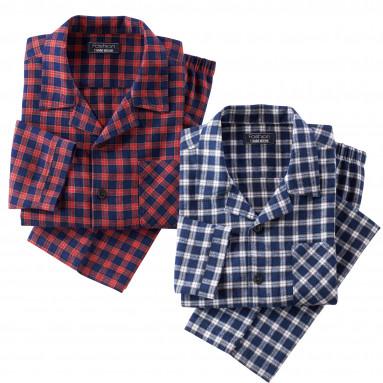 Pyjama clan en flanelle - les 2